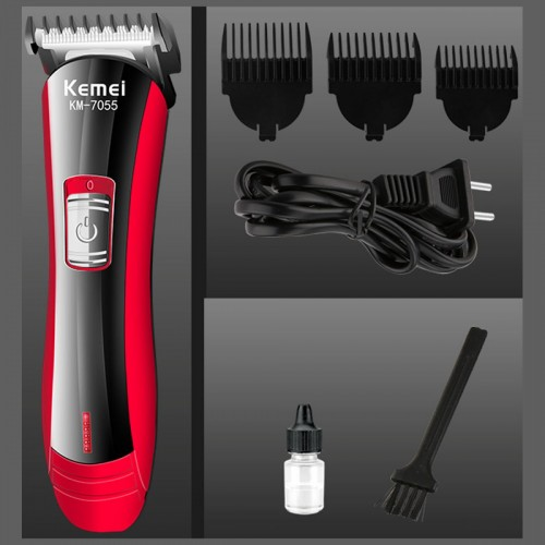 Rechargeable Hair Clipper & Trimmer For Men Kemei KM-7055