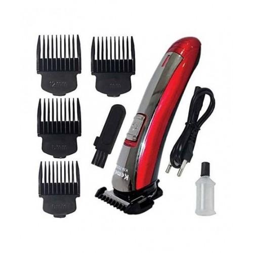 Rechargeable Hair Clipper & Trimmer For Men Kemei KM-7055