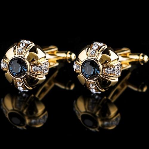 Luxurious Mens Cufflinks Gold Lawyer Cuff links French Shirt Cuffs Men Buttons Wedding