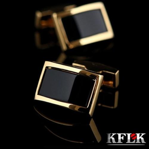 Luxury shirt cufflinks for men s Brand cuff buttons Gold cuff links gemelos High