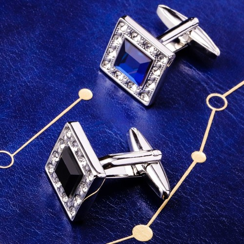 MAISHENOU Cufflinks for Mens Brand Cuff links Buttons Wedding Gifts High Quality