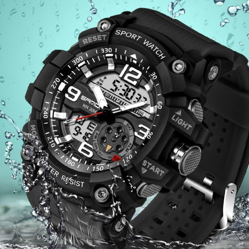 Military Sport Watch Men Top Brand Luxury Famous Electronic LED Digital Wrist Watch Male Clock