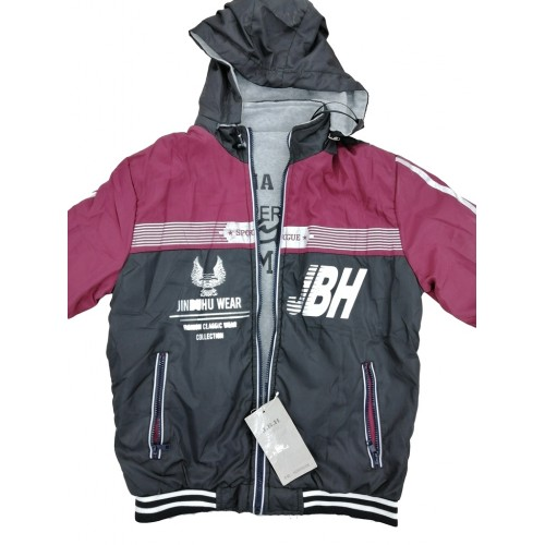 Mens Fashion Casual Design Double Sides Jacket For Winter High Quality