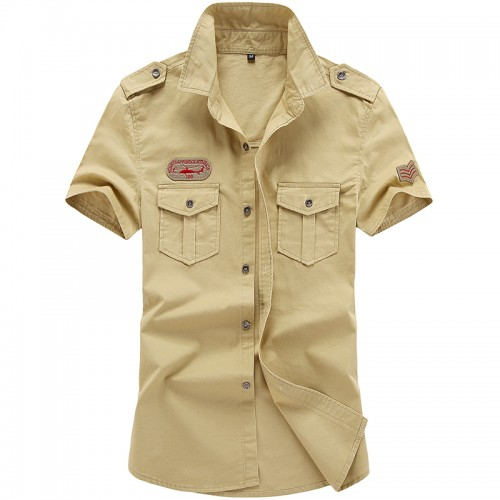 2017 Hot High Quality Men s Short Sleeve Shirt Casual Shirt Top Clothes Free Shipping