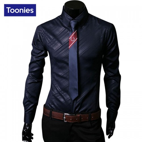 Long Sleeve Camisa Masculina Slim Comfort Soft Men s Shirts Leisurt Style Dress Shirt Camisa Social