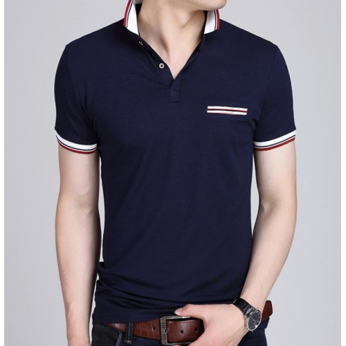2017 New Men POLO Shirt Fashion Polo Homme Slim Fit Short sleeve Camisa Polo shirts Men
