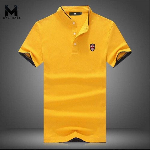 2017New Summer Men Collar Polo Shirt Men Clothing Solid Mens Polo Shirts Business Casual Polo shirt