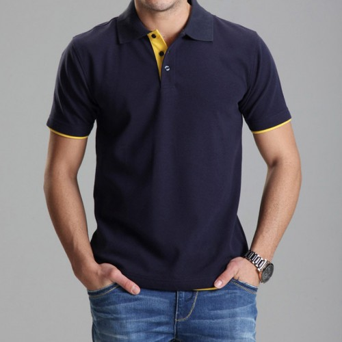 Brand Clothing Polo Homme Solid Wholesale Polo Shirt Casual Men Tee Shirt Tops Cotton Slim Fit