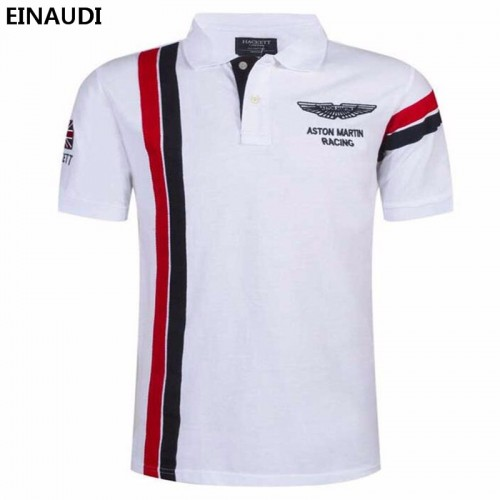 EINAUDI New Summer Men s Short Sleeve Embroidery Polo Shirt Men s Fashion Breathable Polo Shirt