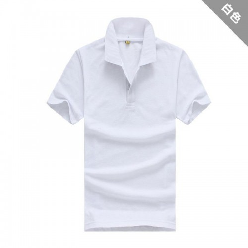Fashion Men s Clothing Solid Classic Polo Shirts Casual Tops Tees 15 colors