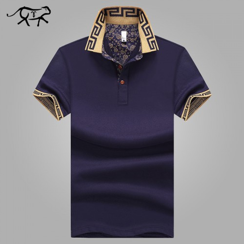 Men s Polo Shirt Style Summer Fashion Men Lapel Polo Shirts Cotton Slim Fit Polos Top