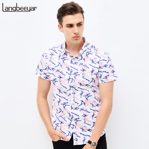 New Spring Men Clothes Shirt Men
