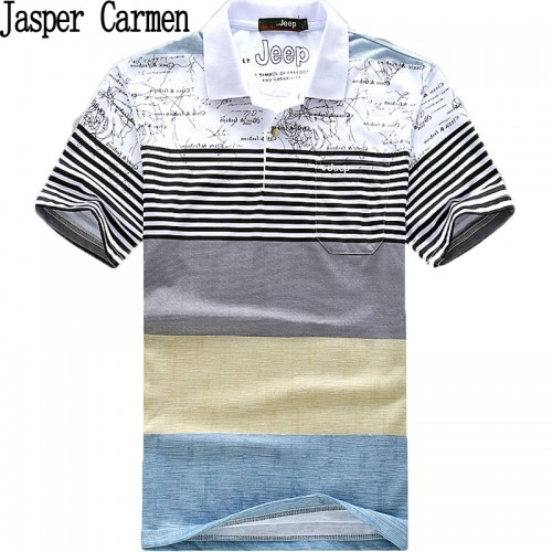 free shipping short sleeve striped shirts summer dresss for men wear clothing size M XXXL 24