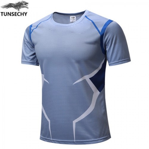 Motion printed half sleeves quick dry t shirt 18 for Quick t shirt printing