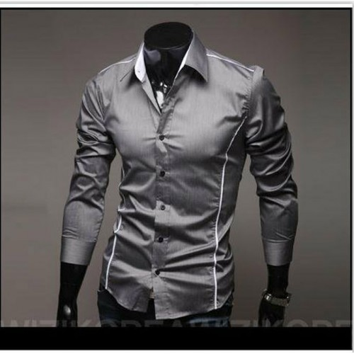 Free Shipping 2016 Brand New style Design Mens Shirts high quality Casual Slim Fit Stylish Dress