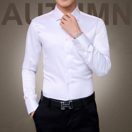 Plus Size 5XL 2017 New Men s Luxury Shirts Wedding Party Dress Long Sleeve Shirt Silk