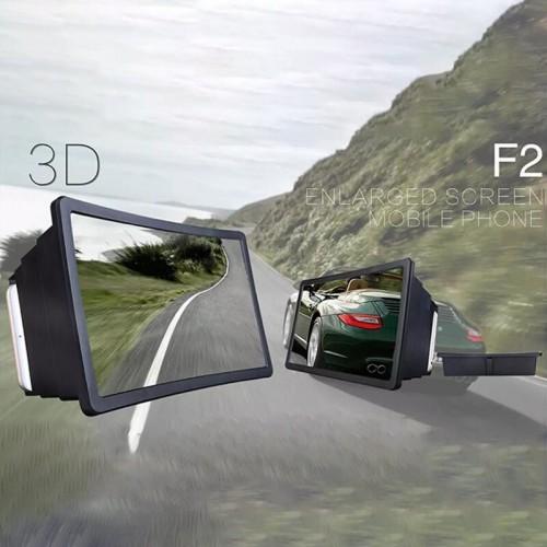 Portable 3D Video Enlarge Smartphone Screen Magnifier Holders Stands Amplifier