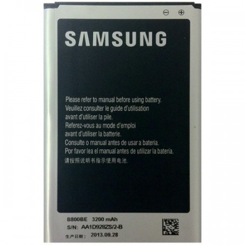 Battery for Samsung Galaxy Note 3 Black & Gold N9000