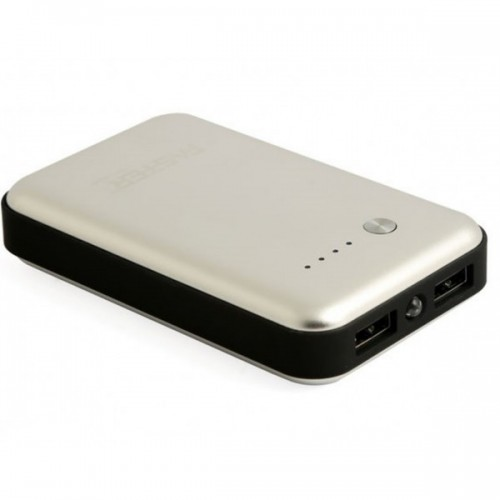 Faster Power Bank for Mobile Phone(FPB0803) - 8000 mAh - Silver/ FASTER PK