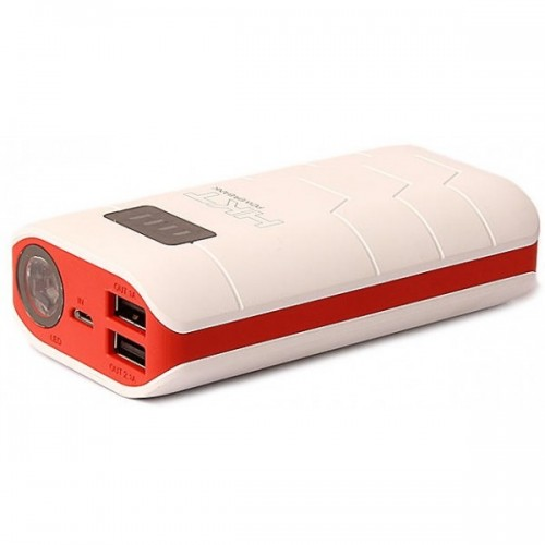 HKT Power Bank P 80 8000mAh White Red