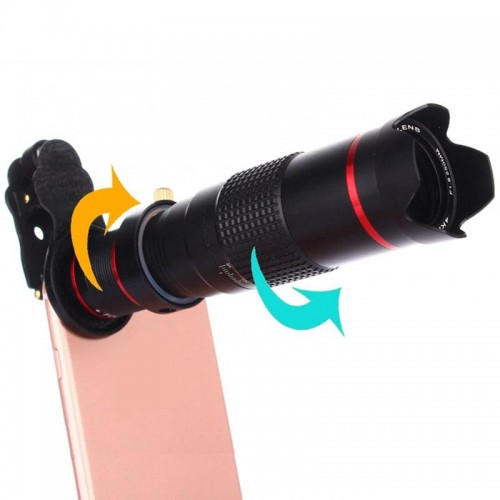 Pro Series 18X Zoom Lens Far Distance Mobile Phone Lens For Smartphone Universal