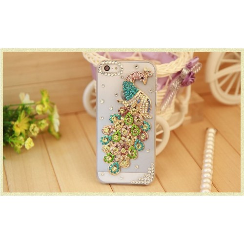 Crystal Diamond Mobile Cover for iPhone (1)
