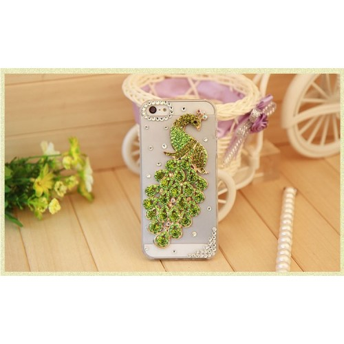 Crystal Diamond Mobile Cover for iPhone (5)