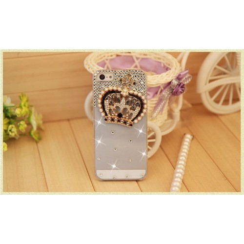 Crystal Diamond Mobile Cover for iPhone (9)