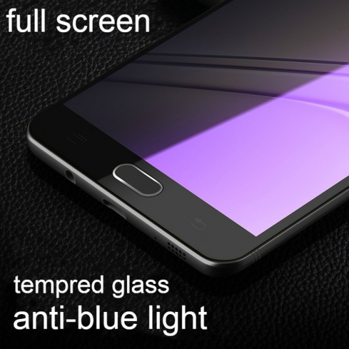 9H Hardness Tempered Glass For Samsung Galaxy C9 Pro Front Full Cover Protective Screen Protector For