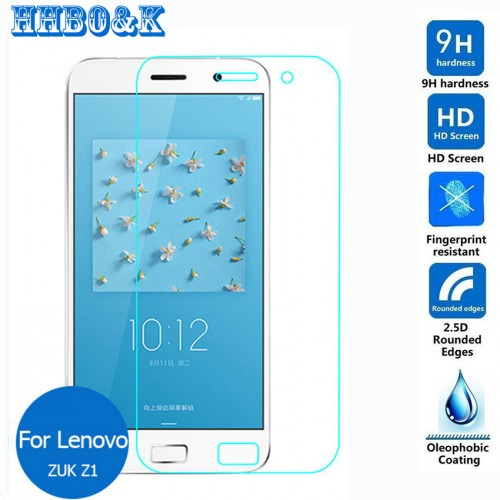 For Lenovo ZUK Z1 Dual Tempered glass Screen Protector 0 26mm 2 5 HD Clear Safety