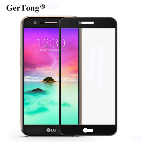 Gertong 2 5D 9H Full Cover Tempered Glass For LG K10 K8 2017 G6 Screen Protector