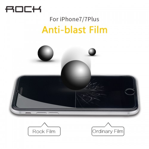 ROCK Screen Protection Tempered Glass For iPhone 7 7plus 6 6S 6Plus 6s plus 5 5S