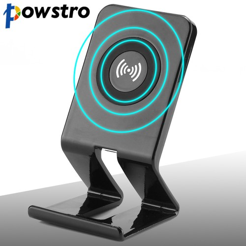 Powstro Wireless Charger Qi Coil Wireless Charging Stations 5V 1500mA Phone Charger Stand For Samsung Note5