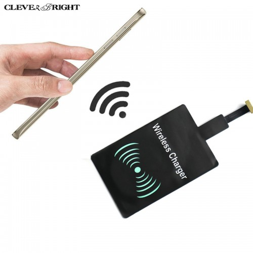 Wireless Charger Kit Qi Charging Receiver Coil Ultra Thin Universal