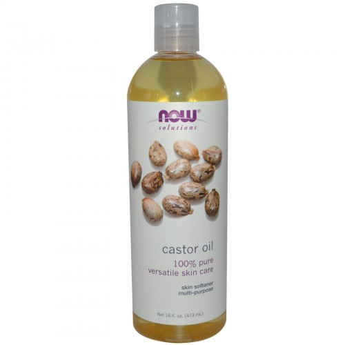 Now Solutions Castor Oil 473 ml