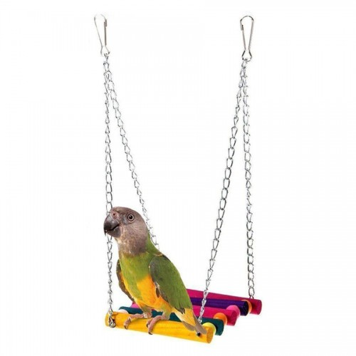 My House Hot lovely design Pet Bird Parrot Parakeet Budgie Cockatiel Cage Hammock Swing Toy Hanging