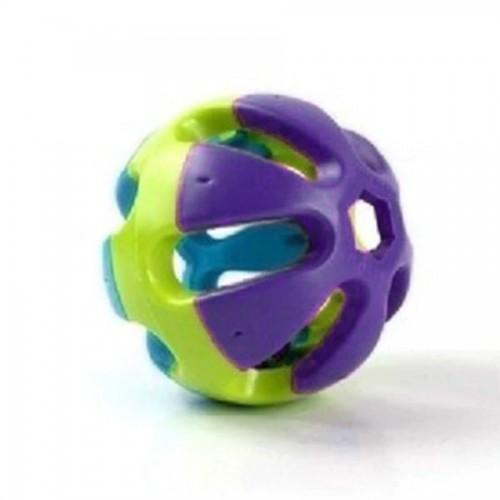 Pet Toys Plastic Bird Bell Ring Balls Parrot Rabbit Birds Dog Cat Hamster Chewing Fetch Pet