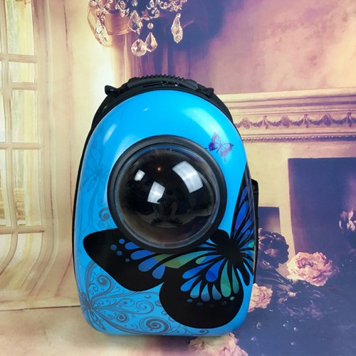Breathable Pet Carrier Backpack Portable Cat Carrier Bag Space Capsule Shaped Carrier backpack