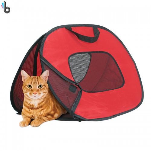 Cat Carrier Bag Pet Backpack Basket Outdoor Travel Foldable