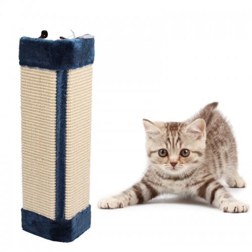 Pet Kitten Cat Wall Corner Scratching Scratches Board Mat Post Tree Scratcher Cat