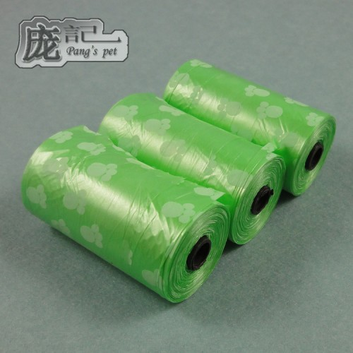 Pet printing garbage bags environmental protection can be equipped with garbage collector