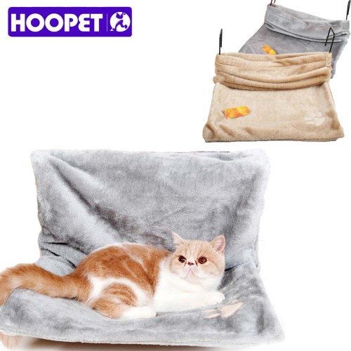 Cat Cradle Hammock Radiator Bed Cushion with Adjustable Holding Device and Removable Cosy