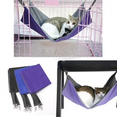 Pet Cat Hammock Bed Hanging Soft Pet Bed Use With Crate Cage Or Chair For Kitten