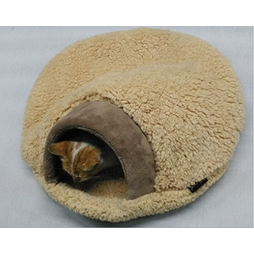 Pet Products Warm Soft Flannels Cat House Pet Cat Sleeping Bag Lovely Hamburger Dog Kennel Cat