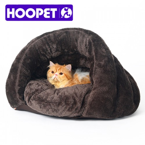 warm cat sleeping bags pet beds half cover winter nest kitty house bed