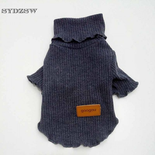 Designer Pet Cat Clothing Elastic Keep Warm Small Cat Coat Sweater Suit Fashion