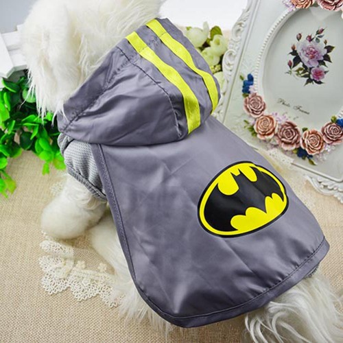 Superman Batman Novelty Cat Vest Cloak Spring and Summer Pet Clothes Vest Shirt