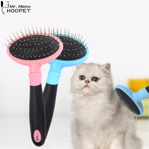 Pet Grooming Tools Stainless Steel Massage Bath Comb Rake Cat Puppy Kitten Shedding