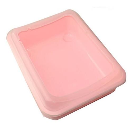 Bedpans Semi Closed Anti splash Cat Toilet Pet Litter Box Plastic Bedpan Katzen
