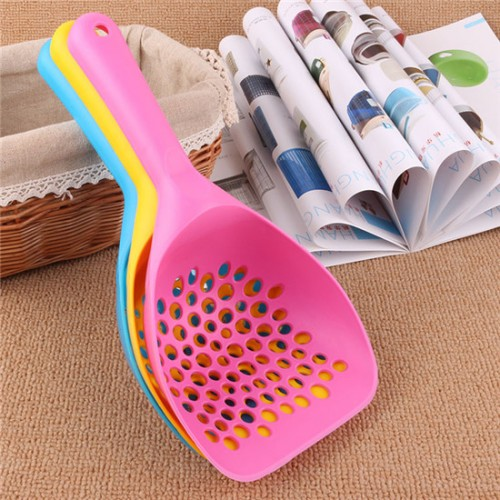 Kitten Sand Waste Scooper Shovel Plastic Litter Scoop Clean Tool for Pet Cat